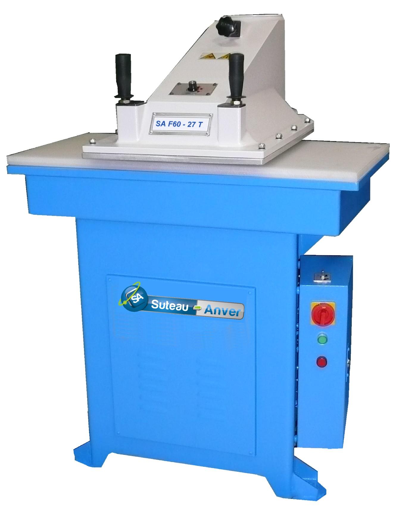 Prensa de corte hidráulica com braço rotativo – Modelo SA F60
